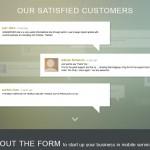 GsmServer Landing Page