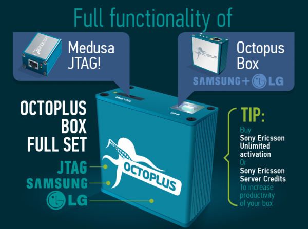 Инфографика для Octoplus Box