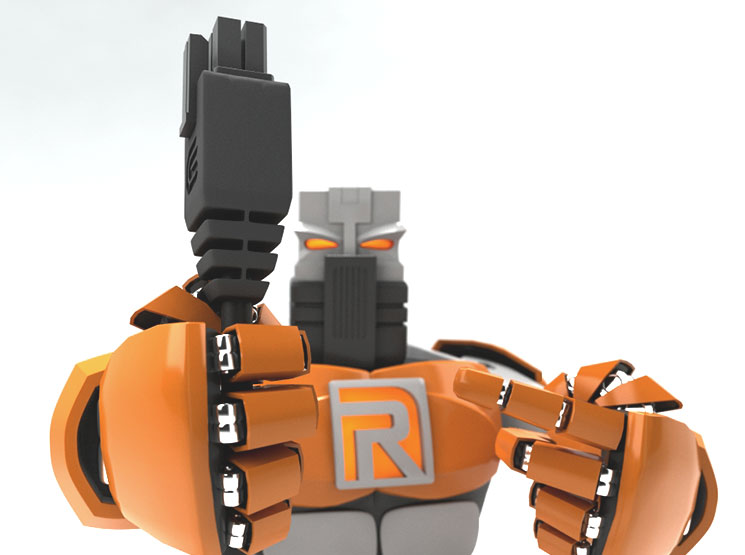 3D-дизайн для GsmServer