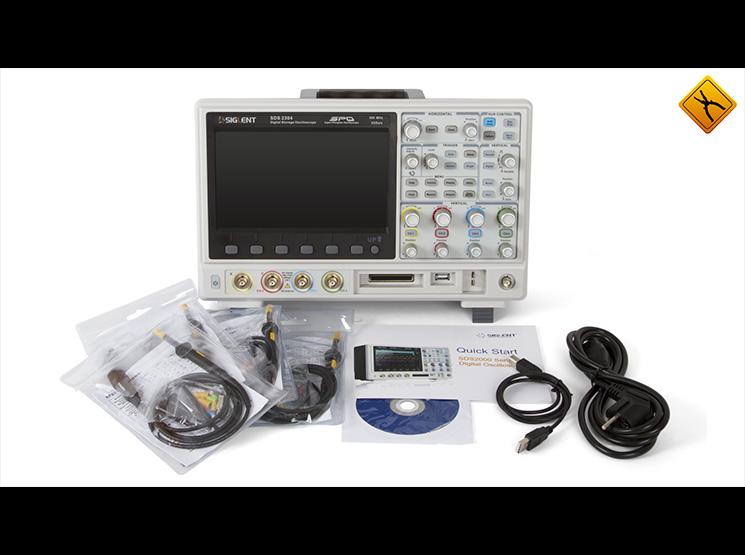 Обзор осциллографов SIGLENT SDS2000