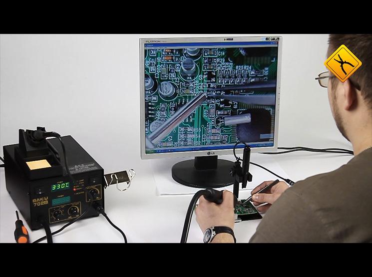 Огляд цифрового USB-мікроскопа Supereyes B008