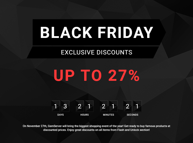 "Landing page ""Black Friday Sale"""