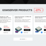 Black Friday Sale GsmServer Landing Page