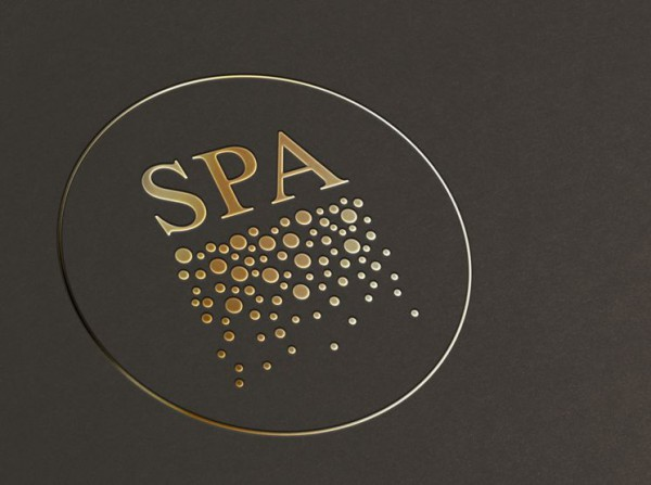 Advertising booklet for Spa Center