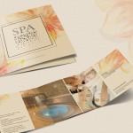 Рекламная брошюра СПА-центра отеля Леополис