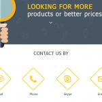 Посадочная страница «Для клиентов»