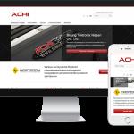 Адаптивний сайт інтернет-магазину ACHI