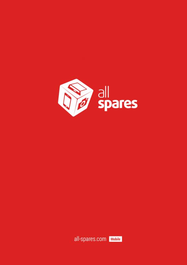 Дизайн мобильной версии сайта  All Spares
